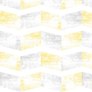Chevron faded yellow
