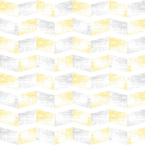 Chevron faded yellow small
