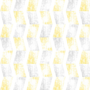 Chevron faded yellow sideways