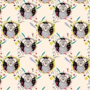 Koala fabric small