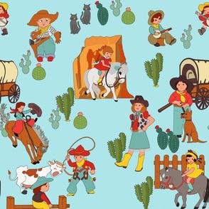 Kitsch cowboy