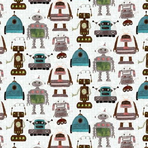 Kooky robot squares and stars_small