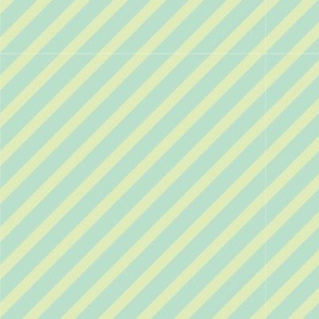 Lime & Mint Diagonal Stripe