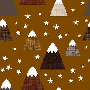 linen mountains on 22-16: coffee, chocolate, mushroom, penny, 13-2, 23-16, 19-16