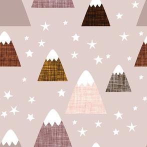 linen mountains on 51-2: rosewood, 44-1, cinnamon, 19-16, hickory, mocha