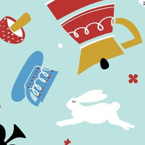 Kitschy Wonderland Tea Party