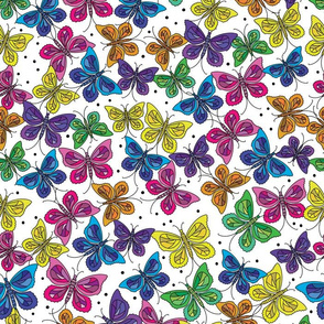Butterfly Party Scatter