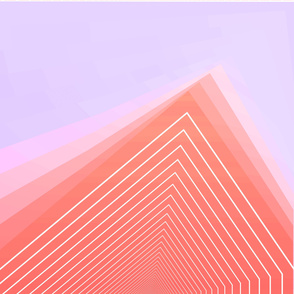 Geometric minimal linear pink cute