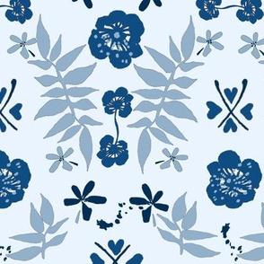 Folk Art de luxe Classic blue