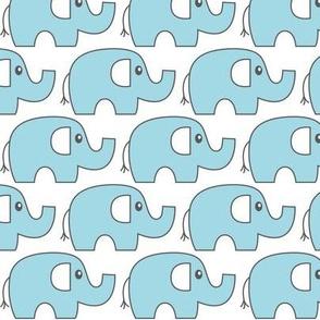 blue elephant stampede