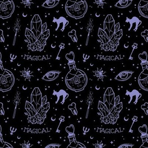 Oddities black lilac