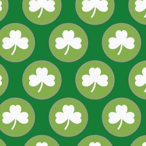 St-Patrick's Day - Circle Shamrock 7