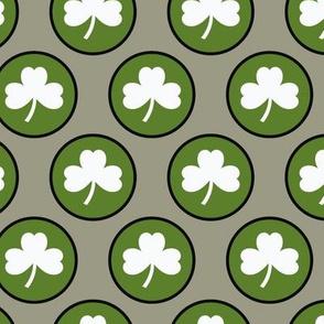St-Patrick's Day - Circle Shamrock 8