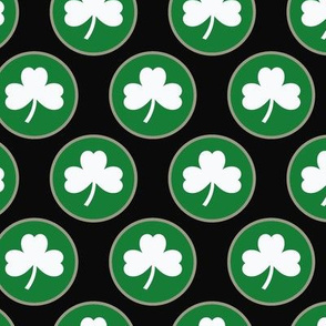 St-Patrick's Day - Circle Shamrock 9