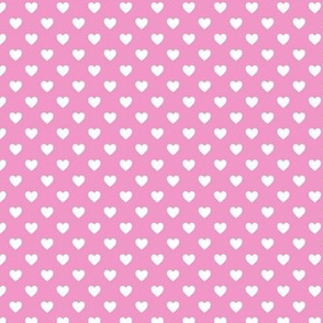 HeartShaped Dots Pink