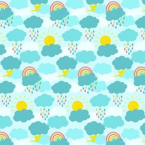 Spring Showers (tiny scale)