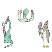 Ice Cream Animals