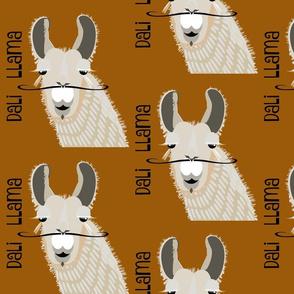 Dali Llama - ochre