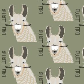 Dali Llama - sage