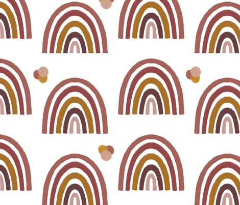 Rpinks-mustard-rainbow-with-multi-colored-dots-png_contest305867preview