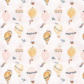 French Romance Hot Air Balloons