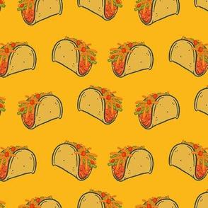 Taco Stripes on Yellow