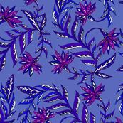 Folk Leaf Purple