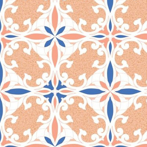Traditional flourishes of Marrocan tile