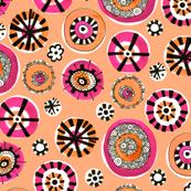 Dazzle Dots Orange