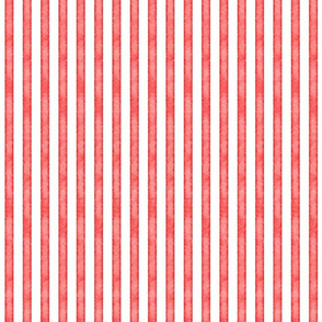 salted watercolor stripes // christmas red // rotated