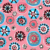 Dazzle Dots Pink