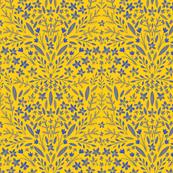 Gouache Floral Yellow