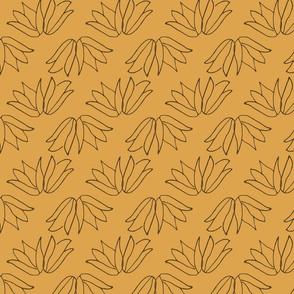 Snowdrop petals - yellow
