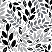 Geometric Botanicals Teal White and Black