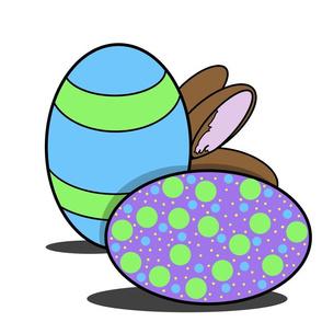 Eggs and Bunny Big