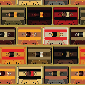 Vintage mixtape