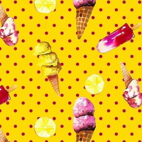 Summertime Sorbetto // Golden Yellow