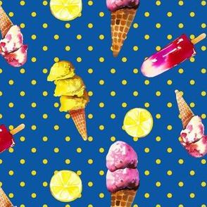 Summertime Sorbetto // Blueberry