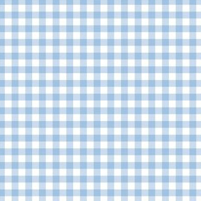 "4"" Bright Blue Gingham"