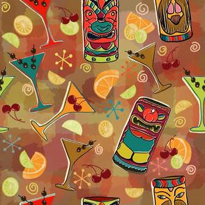 Kitschy Tiki Bar in Browns