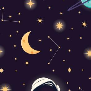 Universe Galaxy Pattern 001