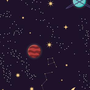 Universe Galaxy Pattern 002