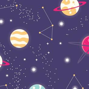 Universe Galaxy Pattern 006