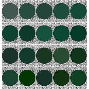 Peacoquette Palette ~ Dark Green Selection