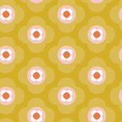 Shapes As Flowers | Yellow