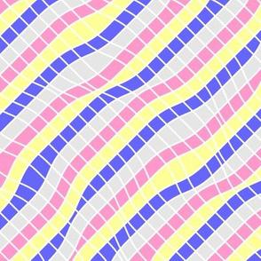 pansexual pride (stripes)