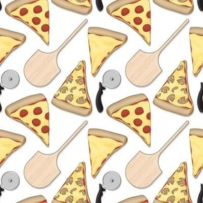 Pizzeria Pizza Pattern