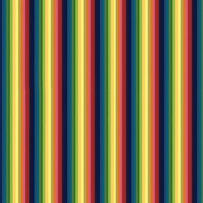 Rainbow Stripes Horizontal
