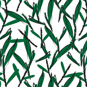 Botanical leaf print19-01