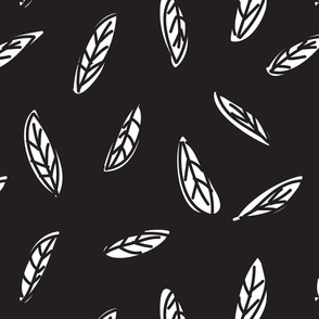 Botanical leaf print15-01